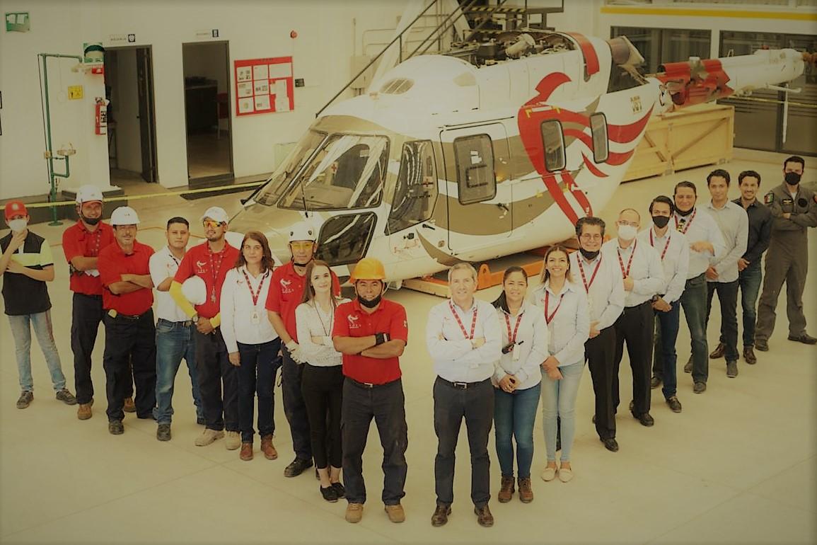 В Мексику прибыл первый вертолет Ансат